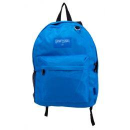 "24 Units of Kids Classic Backpacks in Royal - Backpacks 17"""