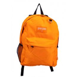"24 Units of Classic Kids Padded Bulk Backpacks in Orange - Backpacks 17"""