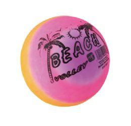 48 Units of Summer Beach Ball Printed - Summer Toys
