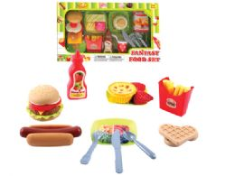 36 Units of KITCHEN FOOD PLAY SET (2 ASSTD.) - Toy Sets