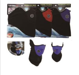 60 Units of Thermaxxx Windproof Half Face Mask w/ Vent - Unisex Ski Masks