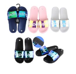 36 Units of CC Sandal Ladies Shiny Super - Women's Flip Flops