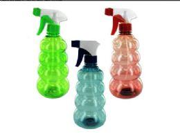 72 Units of 16 Oz. Tornado-Shaped Spray Bottle - Spray Bottles
