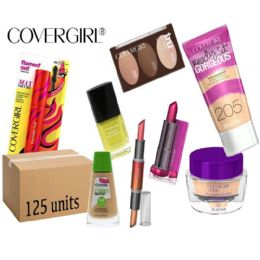 125 Units of Wholesale Assorted Covergirl Cosmetics - Cosmetics
