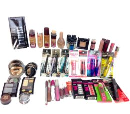 50 Units of Wholesale Assorted Maybelline Cosmetics - Cosmetics