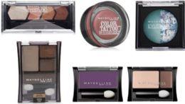100 Units of Wholesale Assorted Maybelline Eyeshadow - Eye Shadow & Mascara