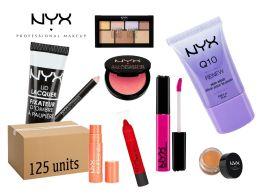 125 Units of Wholesale Nyx Cosmetics - Cosmetics
