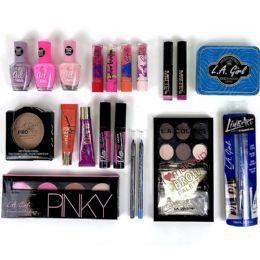 50 Units of Wholesale L.A Girls Cosmetic Mix - Cosmetics