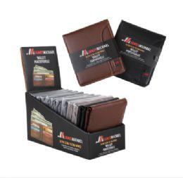 144 Units of JM Men's Wallet Display - Wallets & Handbags