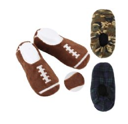 48 Units of House Slipper HD 3 Designs - Men's Slippers