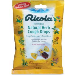144 Units of Ricola LIL Drug Store Cough Drops 21 Pack - Pain and Allergy Relief