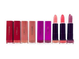 50 Units of Cover Girl Lipstick Color Cases - Lip Stick