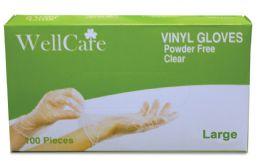10 Units of VINYL GLOVES 100 CT LARGE POWDER FREE BOXED - Kitchen Gloves