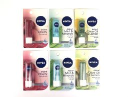 50 Units of Nivea Lip Carded Items - Lip Gloss