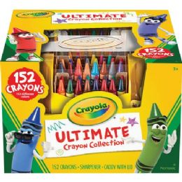 24 Units of Crayola Ultimate 152 Crayon Collection - Crayon