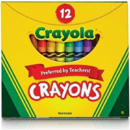 360 Units of Crayola Tuck Box 12 Crayons - Crayon