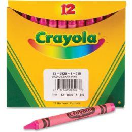 240 Units of Crayola Bulk Crayons - Pink - Crayon