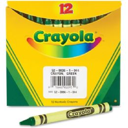 240 Units of Crayola Bulk Crayons - Green - Crayon