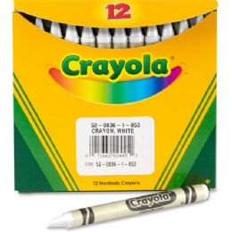 240 Units of Crayola Bulk Crayons - White - Crayon