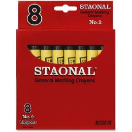 192 Units of Crayola No. 2 Staonal Marking Wax Crayons - Crayon