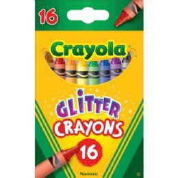 192 Units of Crayola 16-ct Glitter Crayons - Crayon