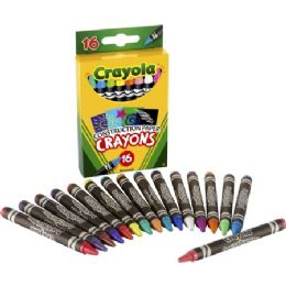 192 Units of Crayola 16 Construction Paper Crayons - Crayon