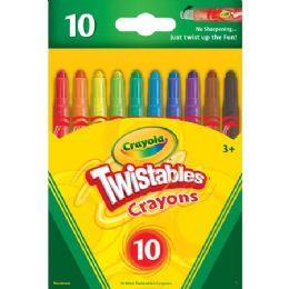 192 Units of Crayola Mini Twistables Crayons - Crayon