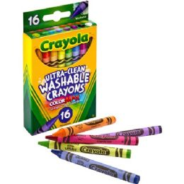 180 Units of Crayola Ultra-Clean Washable Crayons - Crayon