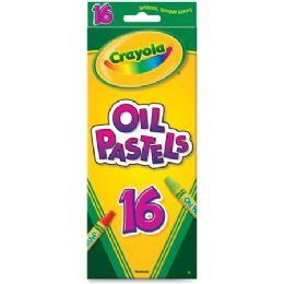192 Units of Crayola Opaque Colors Oil Pastels - Crayon