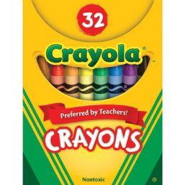 144 Units of Crayola Tuck Box 32 Crayons - Crayon