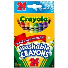 144 Units of Crayola Washable Crayons - Crayon