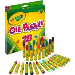 120 Units of Crayola Jumbo-sized Oil Pastels - Crayon