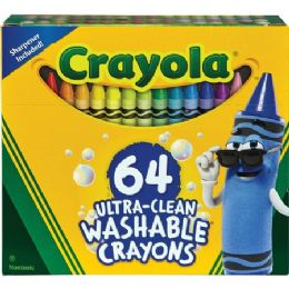 48 Units of Crayola Washable Crayons - Crayon