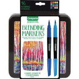 24 Units of Crayola Signature Blending Markers - Markers