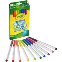 216 Units of Crayola Super Tips 10-color Washable Markers - Markers
