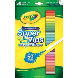 48 Units of Crayola Super Tips Washable Markers - Markers