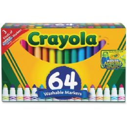 24 Units of Crayola Washable Markers - Markers
