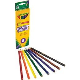 240 Units of Crayola Presharpened Colored Pencils - Office Supplies