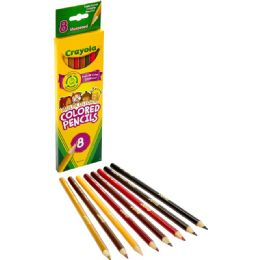 240 Units of Crayola Multicultural Color Pencils - Office Supplies