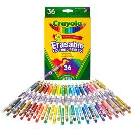 36 Units of Crayola Erasable Colored Pencils - Office Supplies