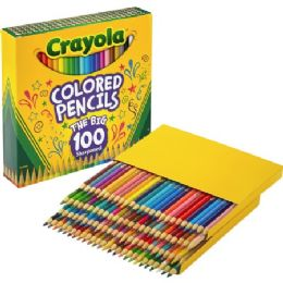 36 Units of Crayola Colored Pencils 100 Count - Office Supplies