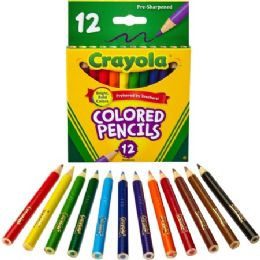 288 Units of Crayola Colored Pencils - Office Supplies