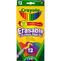 120 Units of Crayola Erasable Colored Pencils - Office Supplies