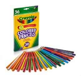 60 Units of Crayola Presharpened Colored Pencils - Office Supplies