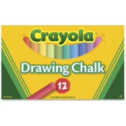 192 Units of Crayola Colored Drawing Chalk - Office Supplies