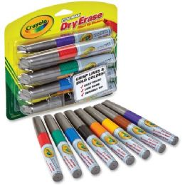 54 Units of Crayola VisI-Max Dry Erase Markers - Markers