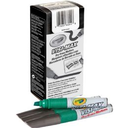 34 Units of Crayola VisI-Max DrY-Erase Markers - Markers