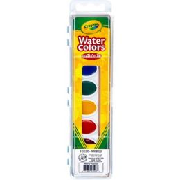 216 Units of Crayola Artista Ii Watercolor Set - Paint, Brushes & Finger Paint