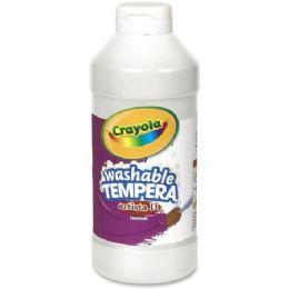 132 Units of Crayola Artista Ii Washable Tempera Paint - Paint, Brushes & Finger Paint