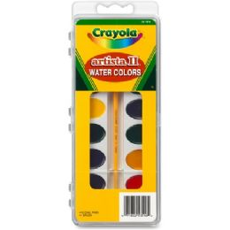144 Units of Crayola Artista Ii Watercolor Set - Paint, Brushes & Finger Paint